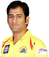MS Dhoni CSK Caption