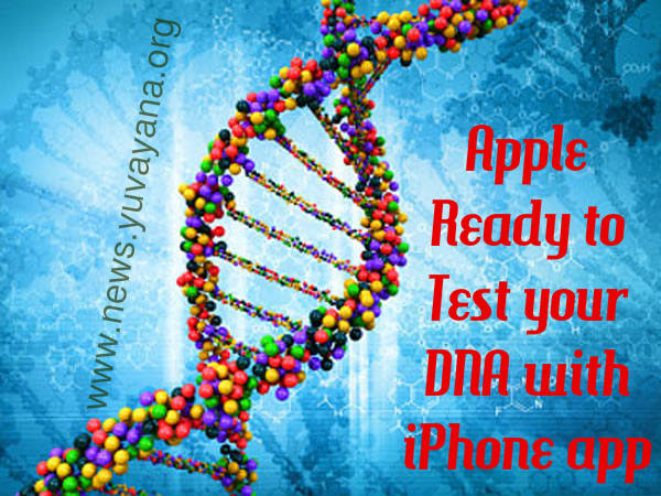 Apple ready to test your DNA with iPhone app