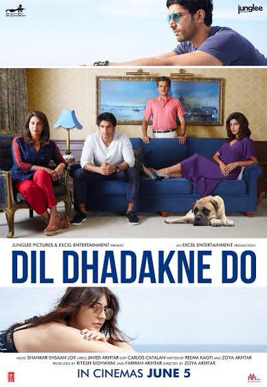 First Look Poster of Dil Dhadakne Do