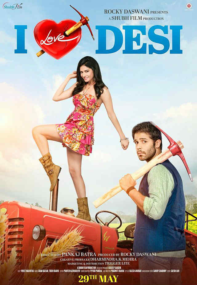 I Love Desi full movie hd Poster