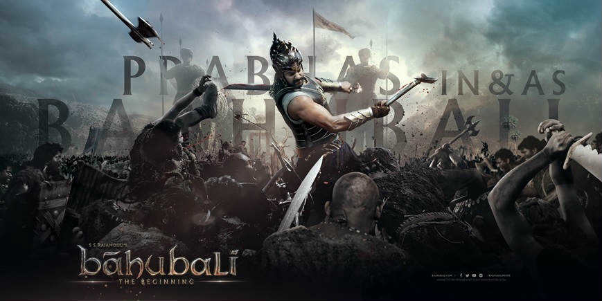 Baahubali fighting wallpaper
