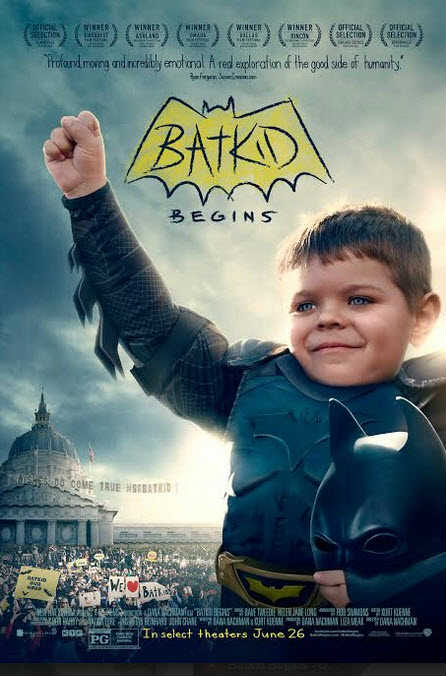 Batkid Begins The Wish Heard Around the World