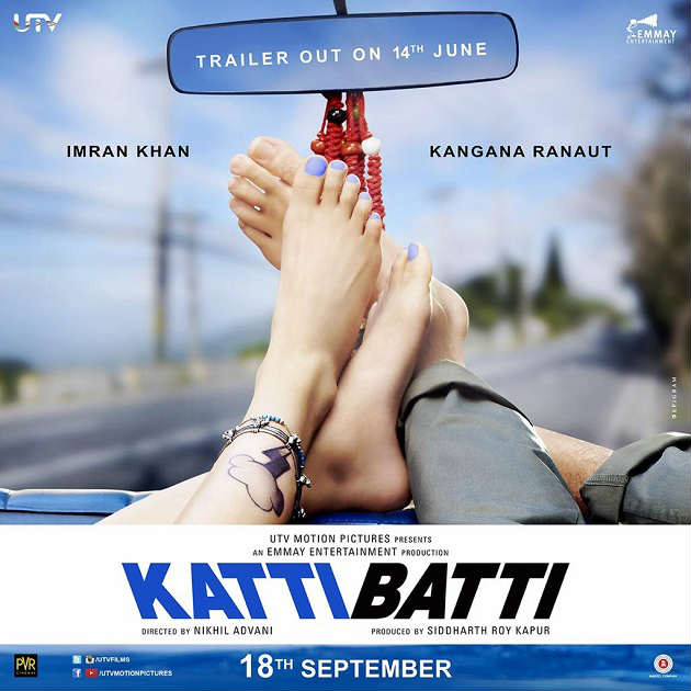 Katti Batti first look poster