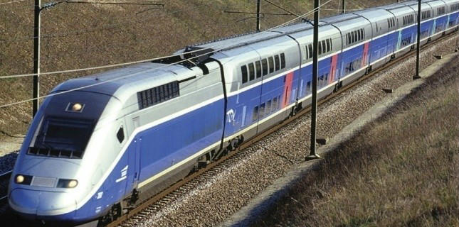 SNCF TGV Duplex train images