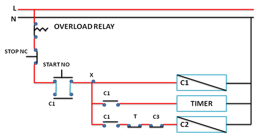 How to troubleshoot 3 phase induction motor step by step guide step6 now connect delta contactor with no point of timer and nc point of star contactor swarovskicordoba Image collections