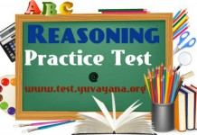 Reasoning Practice test