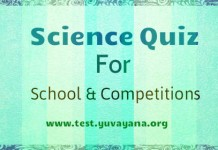 Science Quiz for competitions