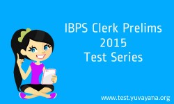 IBPS Clerk Prelims test series