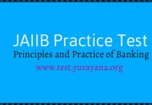 JAIIB Practice Test principles and practice of banking