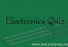 Electronics Engineering Practice Test