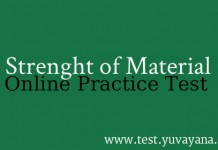 Strength of Material Practice test