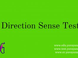 How to solve direction sense problem